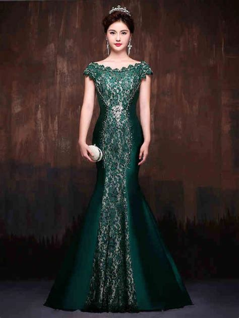 Black Mix Lace Flower Top 11012 Fashion Dress Baju Import forest green mermaid fitted lace formal evening
