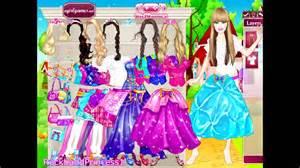 barbie princess charm play kids games dress up