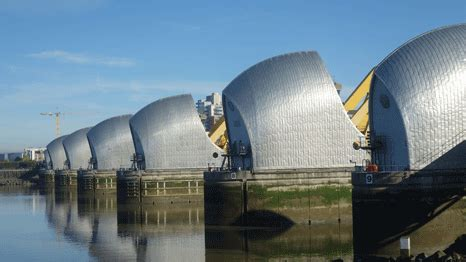 thames barrier and climate change london climate resilience tested as flood barrier rises