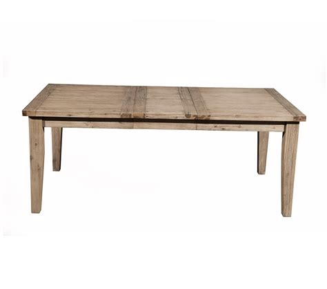 Dreamfurniture Com Aspen Extension Dining Table With Butterfly Leaf Dining Tables