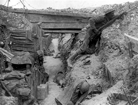 In The Trenches ww 1 trenches pics