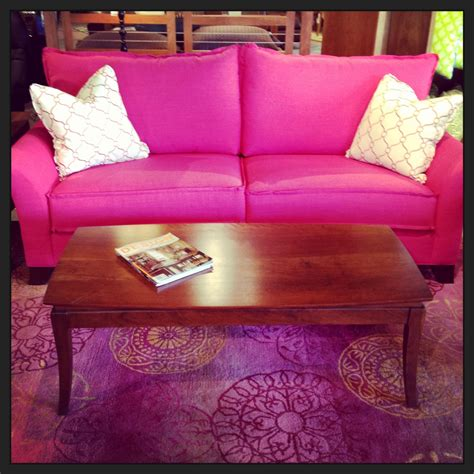 bright pink sofa hot pink linda holt interiors