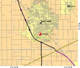 turlock california map