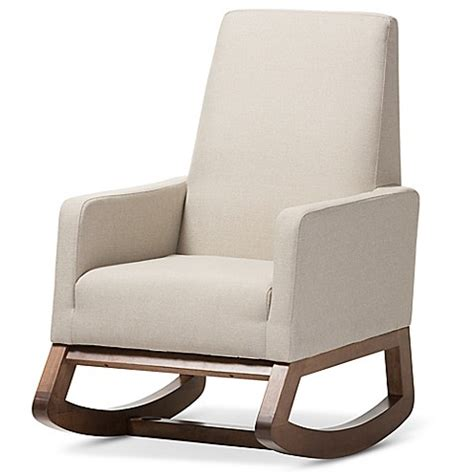 baxton studio rocking chair yashiya braxton studio yashiya rocking chair buybuy baby