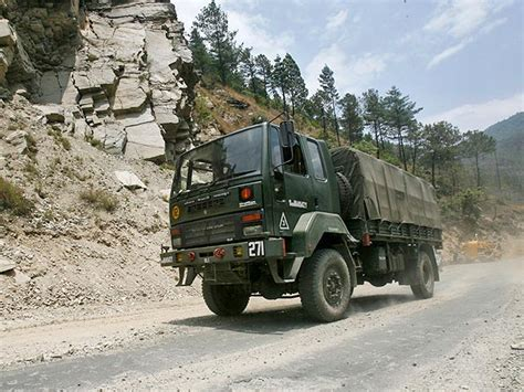 indian army truck india s military power at lac rattles china