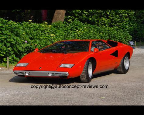1971 Lamborghini Countach Lamborghini Countach By Bertone 1971 1978