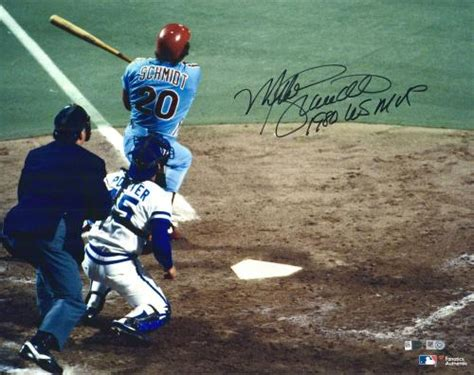 mike schmidt signed photo autographed mlb photos