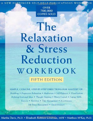 Pdf Relaxation Stress Reduction Workbook the relaxation stress reduction workbook