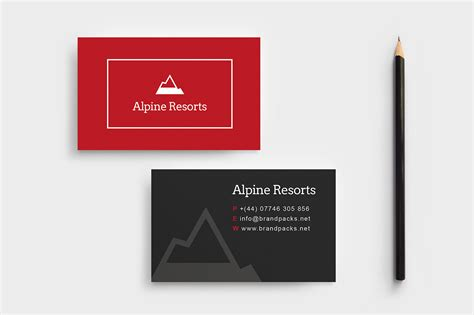 Adobe Illustrator Business Card Template A4 by Free A4 Poster Template Psd Ai Vector Brandpacks