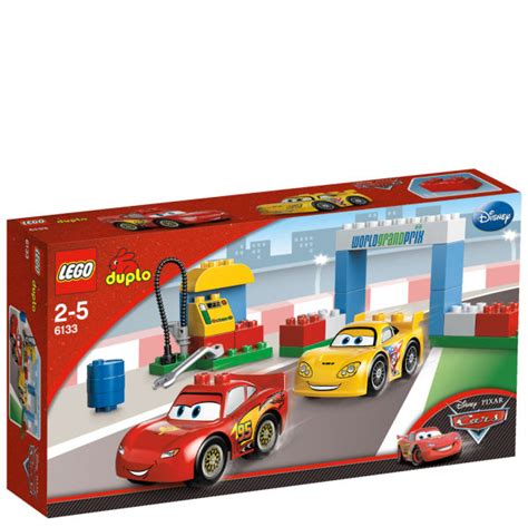 Lego Car Racing 2 lego duplo cars race day 6133 toys zavvi