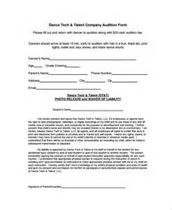 talent show registration form template sle form 7 documents in pdf word