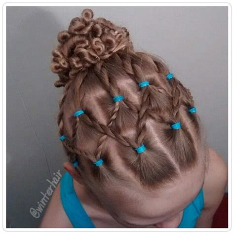 hair styes for girls with loom bands 132 best hairstyles using rubber band s images on