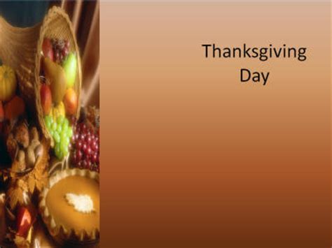 Free Thanksgiving Background For Powerpoint Thanksgiving Powerpoint Templates Microsoft