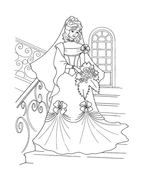 coloring page of a princess castle free printable disney princess coloring pages for