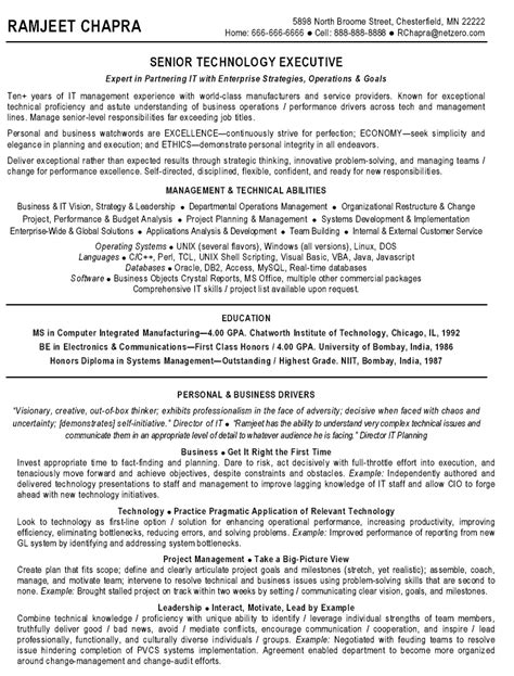 technical project manager resume format technical manager resume best resume gallery
