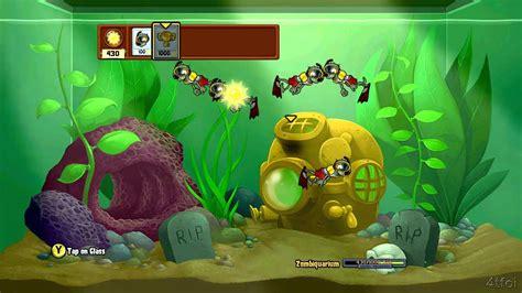 imagenes que se mueven de plantas vs zombies plants vs zombies xbox 360 zombiquarium minigame youtube