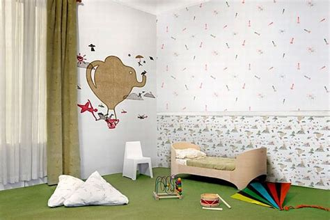 wallpaper kids bedrooms children room wallpaper decoist