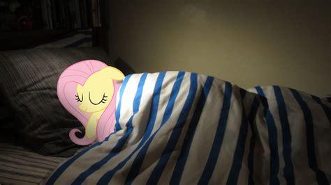 in my bed fluttershy sleeping in my bed by fluttershyhd on deviantart