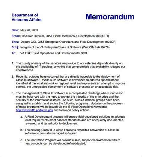 sle internal memo 7 documents in pdf word