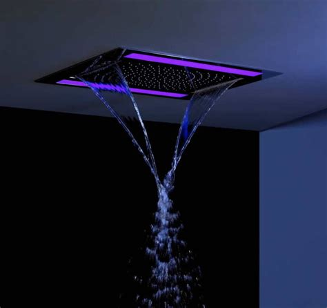 crosswater revive shower with led lighting uk