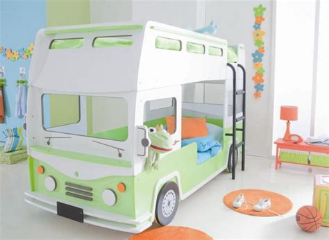 fun beds bus shaped bunk bed for kids room