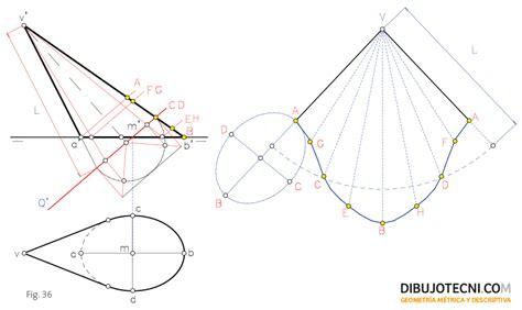 desarrollo tronco cono doovi desarrollo del cono dibujo t 233 cnico