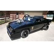 Mad Max Fan Recreates Original Interceptor Car  YouTube