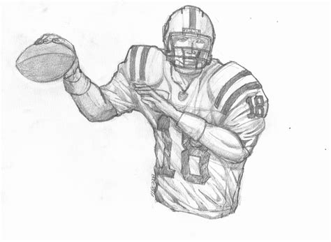 Peyton Manning Football Coloring Pages Sketch Coloring Page Peyton Manning Coloring Pages