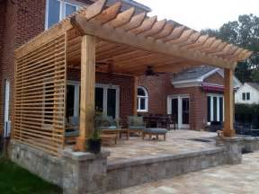 Pergola Screens by Pergola Privacy Screen Backyard Idea S Pinterest