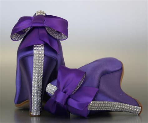 purple wedding shoes wedges wedge wedding shoes wedding