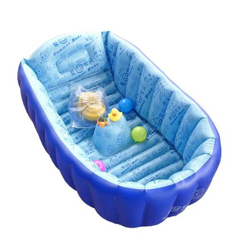 infant inflatable bathtub inflatable baby swimming pool tub infant thicken security