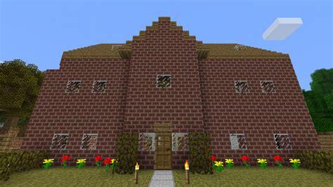 Brick Big 6 Complete my brick house minecraft project