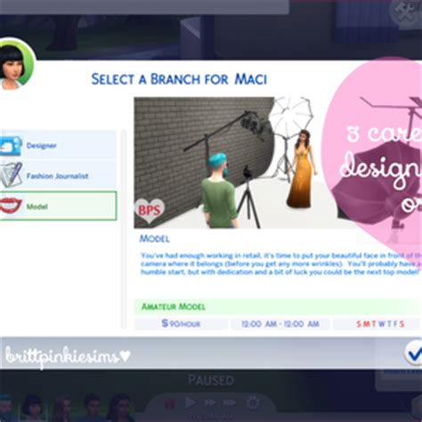 top 51 career hacks how to enter the career fastlane where others struggle aimlessly books fashion career mod brittpinkiesims sims 4 custom content
