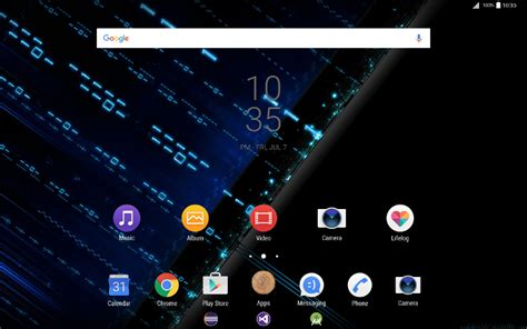 sony themes apps free sony theme with ide icons apk download for android
