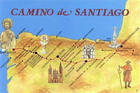 el camino de santiago 8424651812 el camino de santiago thinglink