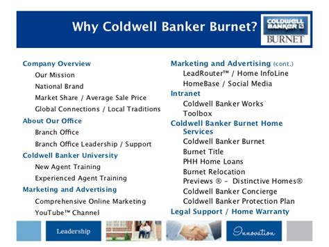 coldwell banker home protection plan brand presentation plymouth