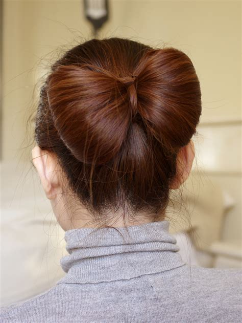Bow Hairstyle Tutorial by Ebeautyblog Hair Bow Tutorial For Hair