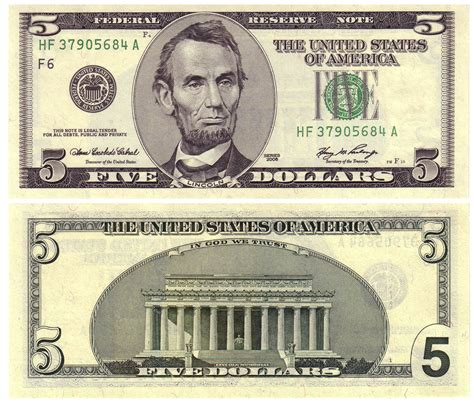 free printable fake money front and back 2006 5 old style coin talk