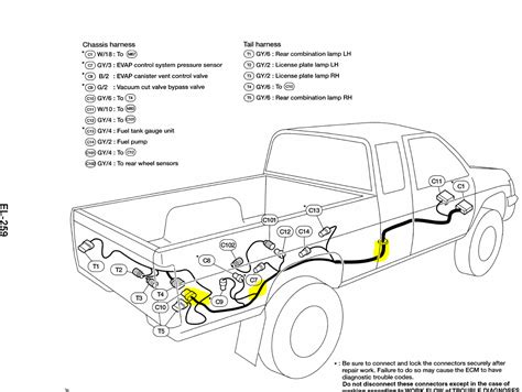 nissan frontier light wiring diagram 2000 nissan
