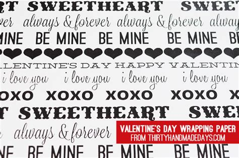 valentines day free megavideo s day wrapping paper