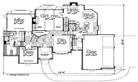 normandy architecture floor plans house style and