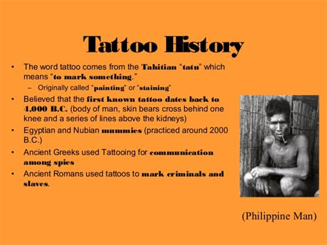 tattoo and body piercing history the history of tattoo s