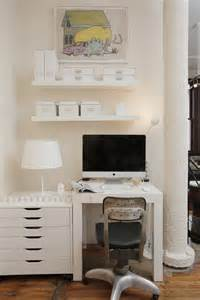 Cool Desks For Small Spaces 57 Cool Small Home Office Ideas Digsdigs