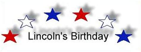 lincoln bday free lincoln s birthday clipart
