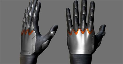 zbrush gloves tutorial zbrush sculpting gloves for a sci fi character time