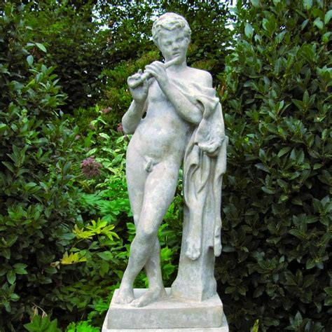 Garden Statues by The Flutist Statue Marble Garden Statues