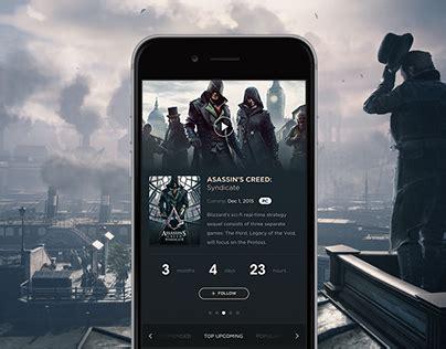 mobile gamespot gamespot mobile app on behance