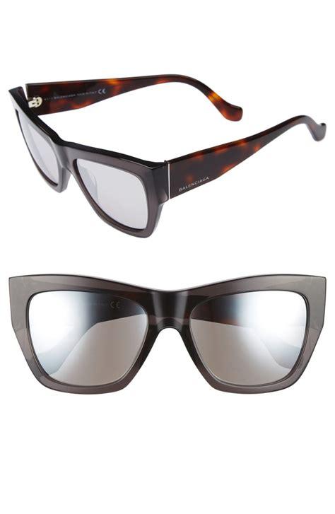 balenciaga 56mm cat eye sunglasses nordstrom