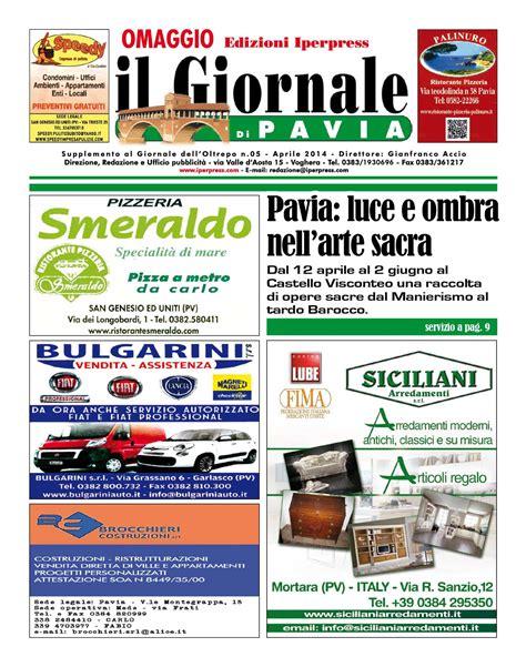 giornale di pavia calam 233 o il giornale di pavia n 176 5 aprile 2014