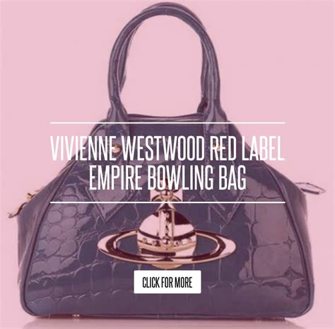 Vivienne Westwood Label Empire Bowling Bag by Vivienne Westwood Label Empire Bowling Bag Fashion